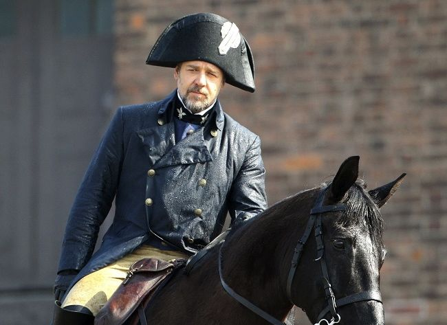 My man of the movie: Russell Crowe's Javert.