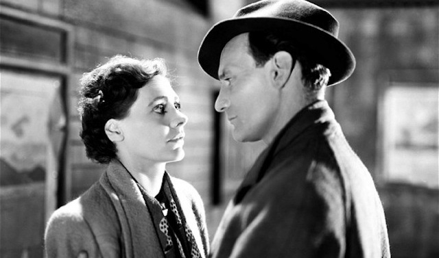 Still from the film Brief Encounter showing Celia Johnson and Trevor Howard.