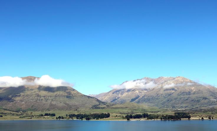 Lake Wakatipu in New Zealand.