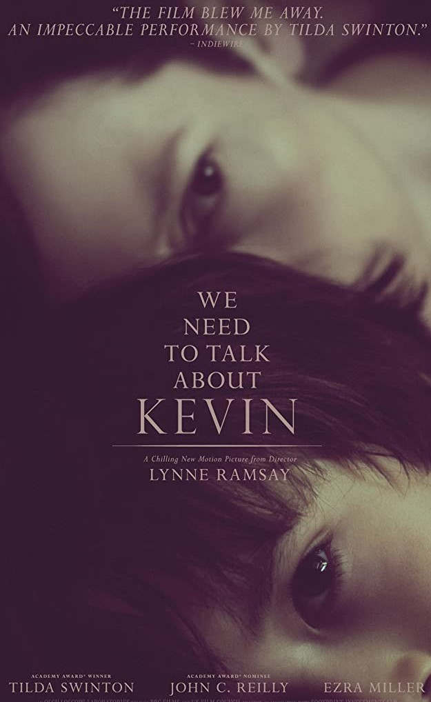 Poster for the film 'We Need to talk About Kevin'.