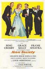 High Society (1956) film poster.